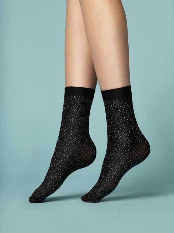 Punčochové ponožky Fiore Pepe Bianco 40 den