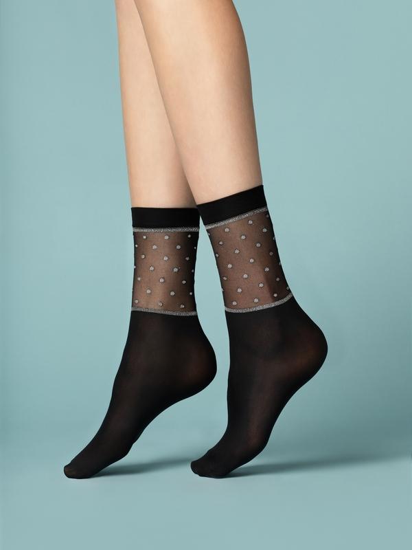 Punčochové ponožky Fiore Prima Neve 40 den